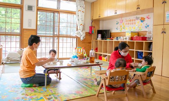 0・1・2歳児室